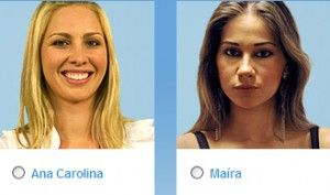 Vote no nono paredão do BBB (Big Brother Brasil) 9: Ana Carolina e Maíra Cardi