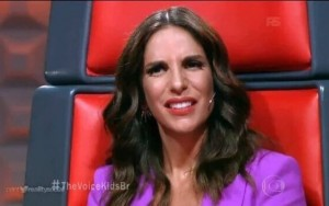 Ivete chamada de Claudia no The Voice Kids
