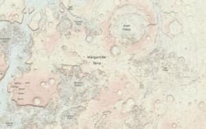 Mapa de Marte