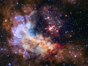 estrelas monstros brilham mais que o sol