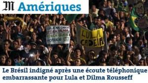 Le Monde destaca crise política do Brasil