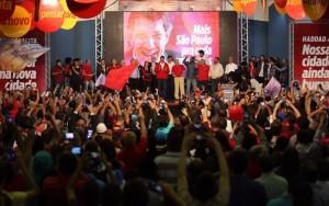 PT oficializa candidatura de Fernando Haddad à reeleição em São Paulo