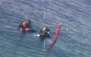 A odisseia de 2 mergulhadores perdidos por 48 horas em águas cheias de tubarões