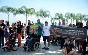 Ato na Paulista defende acesso a medicamentos e tratamento para doenças raras