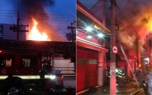 Incêndio em cortiço deixa pelo menos quatro mortos na capital paulista