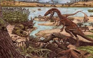 Pesquisadores descobrem fósseis de precursores de dinossauros no RS