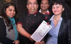 Cliente deixa gorjeta de R$ 4 mil em restaurante na Irlanda do Norte
