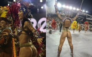 Bumbum na avenida: musas arrasam no carnaval de São Paulo