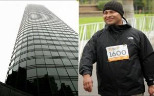 """Dez anos depois, homem que sobreviveu à queda de 47 andares leva """"vida normal"""""""
