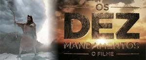 Banner do filme os dez mandamentos