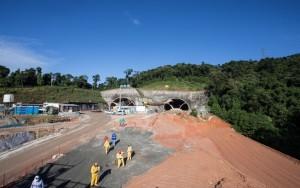 Rodoanel Norte ganha túnel de 701 metros