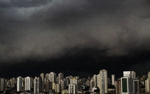 Temporal em São Paulo