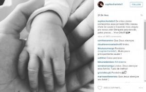 Sophie Charlotte tem seu primeiro Bebê