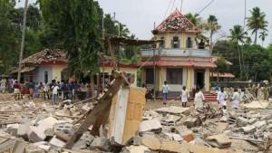 Incêndio em templo na Índia mata mais de cem