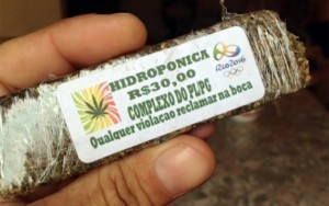 Maconha com selo dos Jogos Olímpicos é vendida no Rio