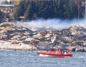 Queda de helicóptero deixa 11 mortos na Noruega