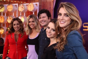 Sandy e Fernanda Lima apresentam nova temporada do 'Superstar''