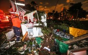 Quase 200 árvores caem em temporal que causou 1 morte e deixou 8 feridos em SP
