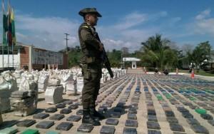 Colômbia faz maior apreensão de cocaína da história; 8 toneladas são encontradas