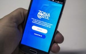 Uso da Zona Azul digital em São Paulo triplica em dois dias