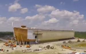 A polêmica Arca de Noé de US$ 100 milhões erguida por parque religioso nos EUA