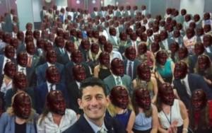 """Presidente da Câmara dos EUA posta """"selfie com menos diversidade da história"""""""