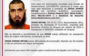 Polícia Federal procura sírio suspeito de terrorismo no Brasil