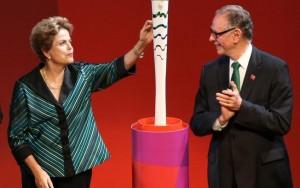 Dilma se diz 'triste' por não assistir ao vivo a abertura do Rio 2016