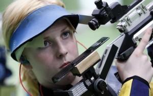 Primeiro ouro do Rio 2016 sai para americana de 19 anos, na carabina de ar 10m