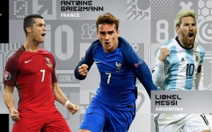 Sem Neymar, Fifa divulga finalistas na premiação de melhor jogador do mundo