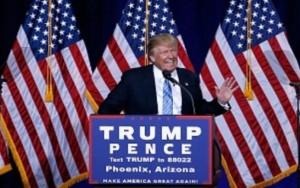 """""""Devemos combater o fogo com fogo"""", diz Trump sobre torturar membros do EI"""