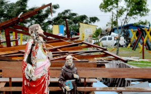 Vendaval deixa ao menos dois mortos e dez desaparecidos na Serra Gaúcha