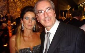 Tribunal mantém ação deimprobidade administrativacontra Cunha e Cláudia Cruz
