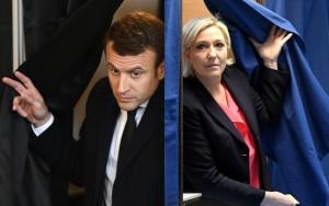 França escolhe seu novo presidente neste domingo; Macron e Le Pen já votaram